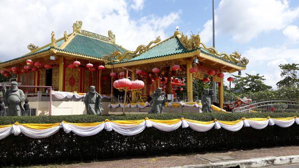 phuket photos daylife phuket town kiew tien keng chinese shrine